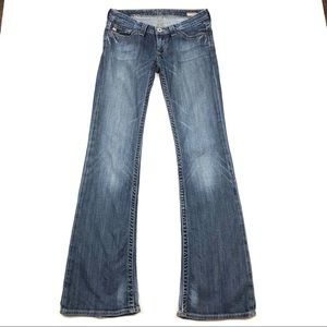 Big Star Sweet Low Boot Jeans-Light Wash